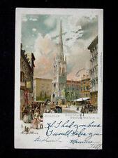 c.1905 Grace Church Broadway & 10th St. NY NY PMC post card Tuck sgd. Robinson