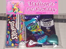 12 Personalised Birthday Party Lolly / Loot Bags with Disney Princess Print