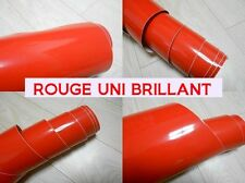 FILM ADHESIF VINYLE ROUGE UNI BRILLANT 1.52 x 10 Mètres Covering