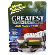 JOHNNY LIGHTNING JLCP7068 WWII ALLIED VICTORY MILITARY 1/64 - 1/87 GMC CCKW 6X6
