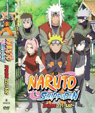 DVD ANIME NARUTO Vol.221-380 ~ENGLISH VERSION~ Reg All  BOX 2 + FREE EXPRESS UK