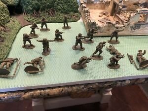 CONTE LONGEST DAY US AIRBORNE PARATROOPERS ALL 16 POSES IN EXCELLENT CONDITION