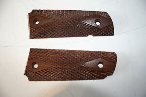 US Army M1911A1 Colt Grips - WW2 Repro Wood Handle American .45 Cal