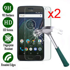 2X For Motorola Moto G4 G5 G6 G5S Plus Premium Tempered Glass Screen Protector