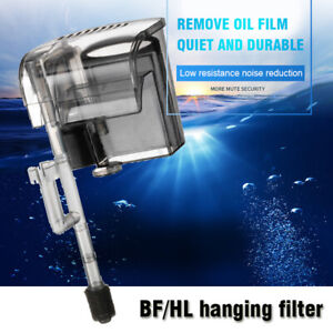 Aquarium 600l/h Hang On Back Waterfall Filter For Fish Tank External Filtration