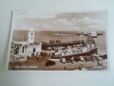 MARGATE, The Pier RPPC Advertising Harry Orchids Swanee Minstrels    §A1955