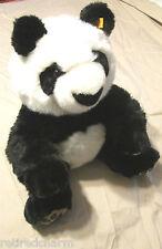 "❤️STEIFF MANSCHLI PANDA 🐼 BEAR 064821 14"" IDs 2005-08 W/ BOX OPTION TEDDY VTG❤️"