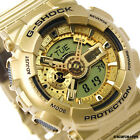 CASIO G-SHOCK Limited Edition Bright Gold Colors Watch GShock GA-110GD-9A