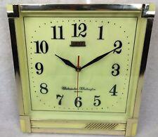 Beltz West Germany Musical Wall Clock Westminster Whittington Mid Century Modern