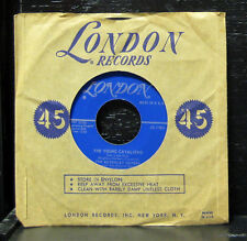 """The Beverley Sisters - The Young Cavliero Mint- 7"""" Vinyl USA 1957 London 45-1783"""