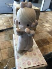 """Precious Moments """"Lord Give Me A Song"""" Porcelain Figurine #12386"""