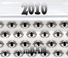 "100 PACK BLACK SPIDERS 2010 Apple Ziplock Baggies 2.0x1.0"" Mini POLYBAGS"