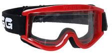 NEW 2014 WSGG CHEAP STANDARD MX MOTOCROSS GOGGLE RED ATV QUAD GOGGLES