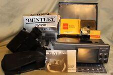 Rare Vintage Bentley BX720 Super 8 Movie Camera & Bentley BX11 Super 8 Projector