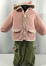 Gymboree Toddler Girl 18-24 M My First Pet Outfit Set Pants Jacket Kitty Cat $63