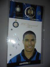 COLECCIÓN FÚTBOL FC INTER PINS 2007/2008 BROCHE IVAN RAMIRO CORDOBA N °16