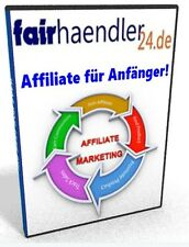 eBook AFFILIATE für ANFÄNGER Internet Marketing Einsteiger Beginner NEU E-Lizenz
