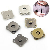 10pcs/Set Magnetic Snap Button Metal Sew On Craft DIY For Coat Bag Supplies