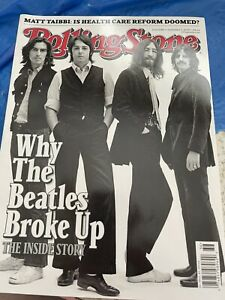 Rolling Stone Magazine Why The Beatles Broke Up Sept 2009