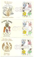 PHILIPPINES 8 x COVER / CARD - OLYMPICS -
