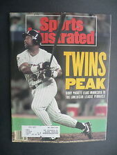 Sports Illustrated October 21, 1991 Kirby Puckett Twins MLB De La Hoya Oct '91 A