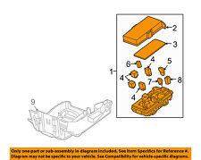 Pontiac GM OEM 2005 G6 3.5L-V6 Fuse Relay-Junction Block 22731137