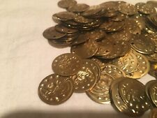 belly dance costume Accessories-sew On Goldtone Coins 270 Pieces