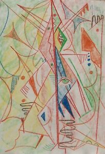 Roger Latimer Ashby - 1942-1998 - Cubist figure  - Picasso  influence