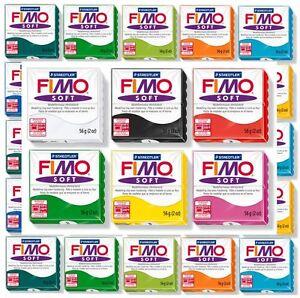 FIMO Soft Artistes 57 Gr. Pâte à Modeler 28 Couleurs Base Livraison Tracée