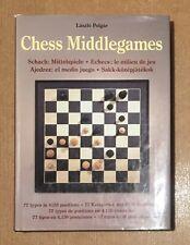 Chess Middlegames HB Book By Laszlo Polgar Published by Konemann, Koln 1998 VGC
