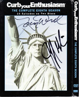 Larry David Jeff Garlin signed autographed auto Curb Your Enthusiasm DVD set JSA