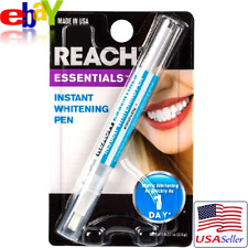 REACH Essentials Professional Instant Whitening Pen Brush for Teeth MADE IN USA