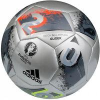 adidas Euro 16 Glider Soccer Ball Silver AO4845