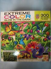 Extreme Color Glow in the Dark Ladybug Lane 300 pcs Puzzle Masterpieces