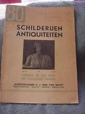 Schilderijen Antiquiteiten 1944 sale catalog, Amsterdam