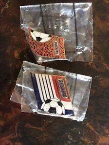 Snickers U.S. SOCCER Pins 1998 Lot of 2. NIP