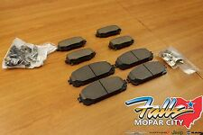2014-2019 Jeep Cherokee Front & Rear Brake Pad Set Mopar OEM