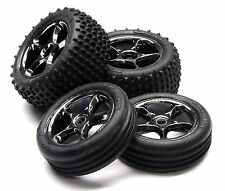 Bandit VXL TIRES (front rear WHEELS) 2470A, 2471, 2473A, 2472A Traxxas #2407