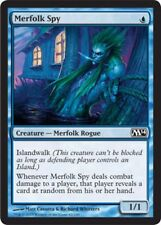 4x MTG: Merfolk Spy - Blue Common - Magic 2014 - M14 - Magic Card
