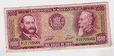 Perù 1000 1.000 soles de oro 1970 qSPL aXF  Pick 105a  Lotto 1487