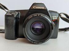 Vintage 35mm Canon EOS Rebel Camera Lens EF 50mm 1:1.8 Made in Japan Photos
