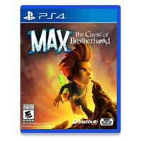 Max The Curse of Brotherhood PlayStation PS4 2017 US English Factory Sealed