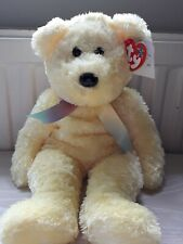 Ty Beanie Buddies Sherbet - Bear Yellow