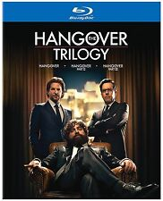 The Hangover Trilogy 1,2 &3 (Blu Ray Disc, 2013) Bradley Cooper - Brand New!!