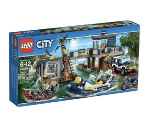 Lego City 60069 Swamp City Police Station Complete Retired + Instructions No Box