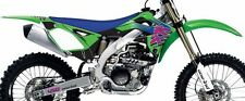 KAWASAKI KXF 450 ONE INDUSTRIES THROWBACK GRAPHICS STICKER KIT KX450F 2012 EVO