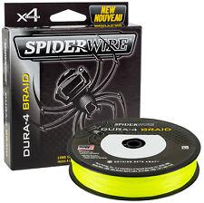 SpiderWire Dura 4 Yellow - Gelb - 0,20mm - 17kg - 150m geflochtene Angelschnu
