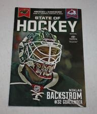 Minnesota Wild Program Magazine | February 14 2013 | Niklas Backstrom