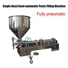 5-50ml Single Head Semi-automatic Paste Filling Machine Honey Filling Machine