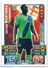 2015 / 2016 EPL Match Attax Away Kit (433) Victor WANYAMA Southampton